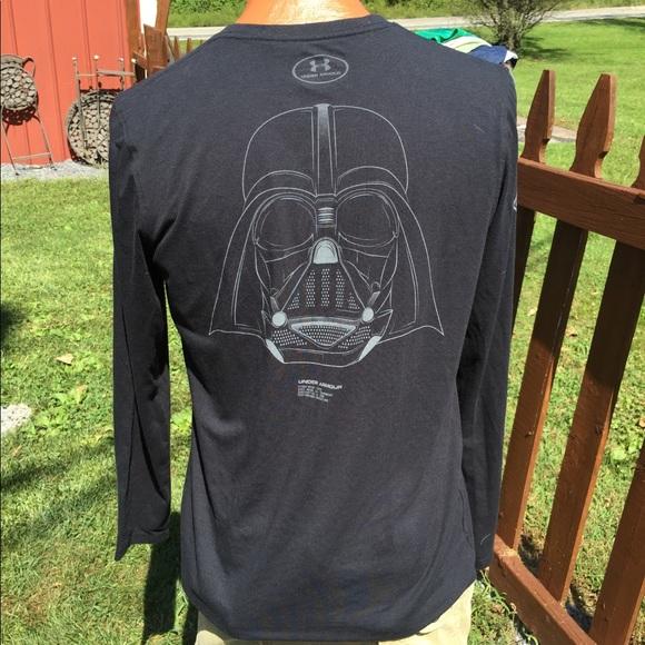 5d32db3e Under Armour Mens Star Wars Darth Vader Shirt S. M_5b8ec4b6dcf855ec1d6db990